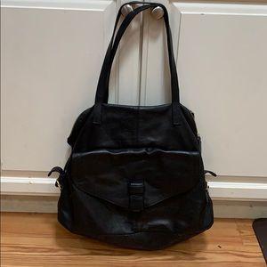 Zara black large bag